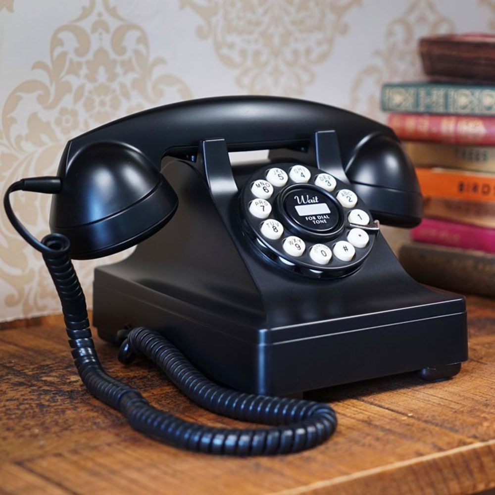 Wild & Wolf Classic Telephone Series 302 Black - By Categories