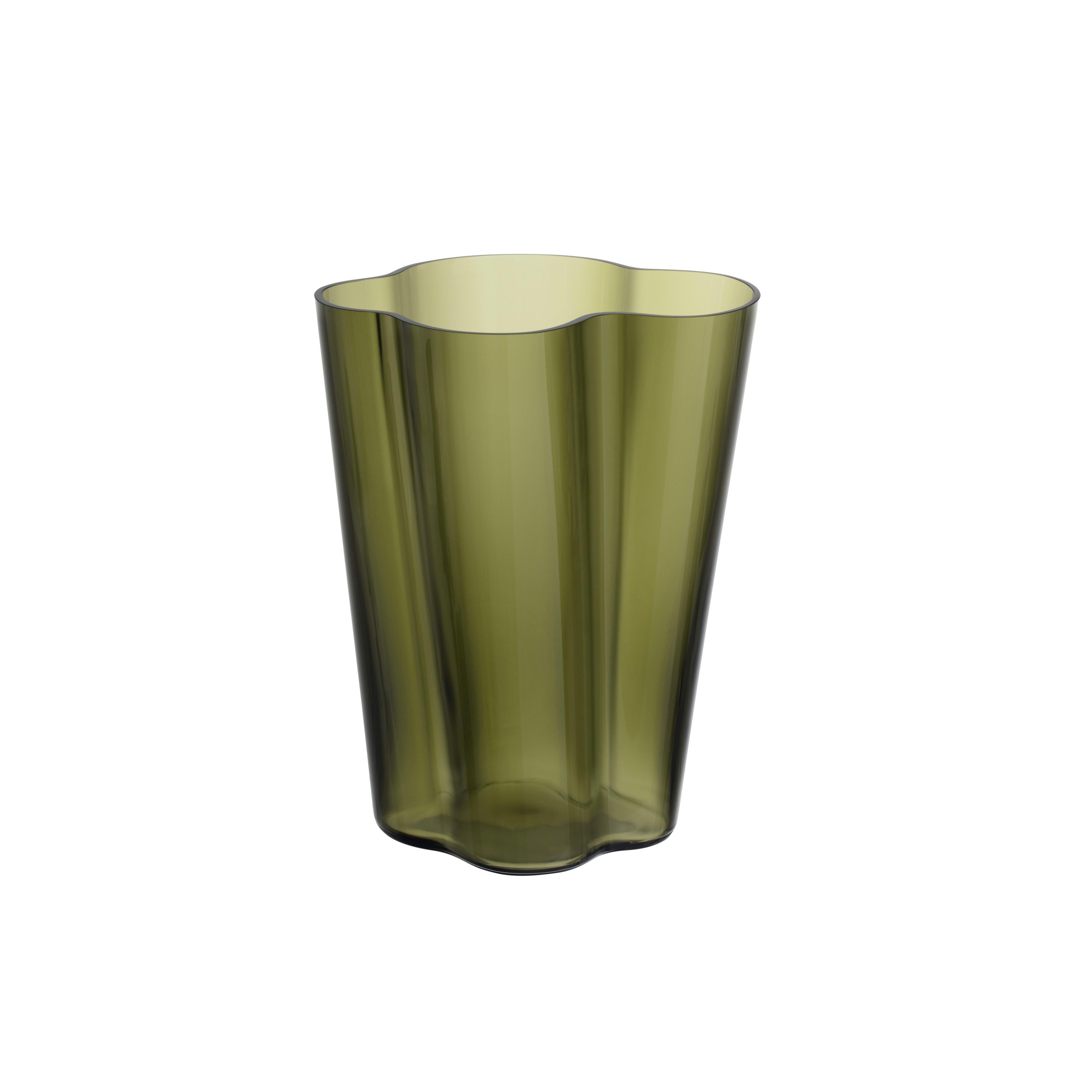 iittala Aalto vase 270mm moss green